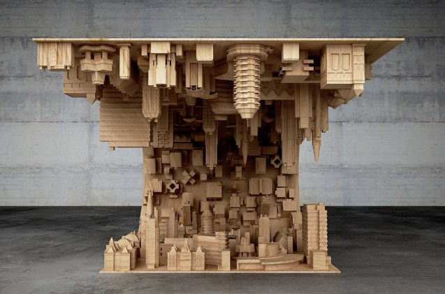 A Mind-Bending Coffee Table Straight Out of inception